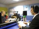 Aaron on BBC Radio Surrey