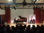Piano recital success